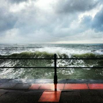 Penzance Promenade Storm