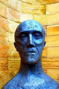 Portrait of a Sculpted Man