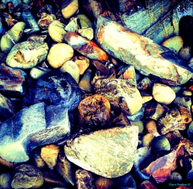 Cornish Beach Stones I