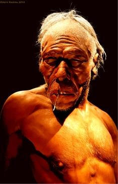 Portrait of an Ancient Man